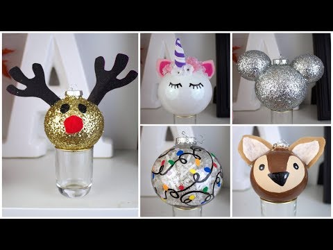 7 CHEAP & EASY DIY CHRISTMAS ORNAMENTS | PINTEREST INSPIRED
