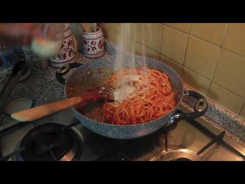 Spaghetti all'Amatriciana di Chef Gentile