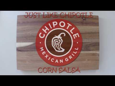 Just like Chipotle Corn Salsa!