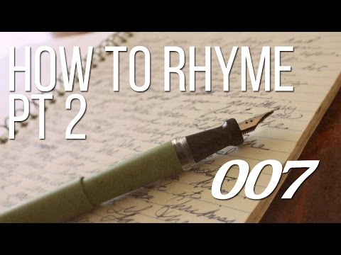 How to Write Song Lyrics Part 2 - Rhyme Schemes