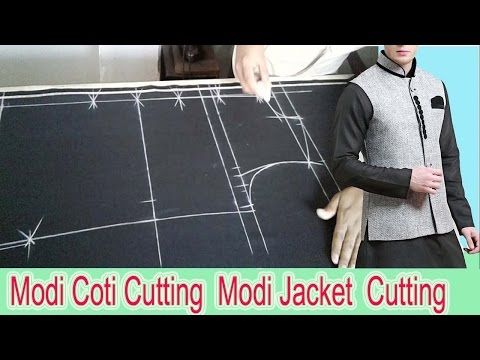 Modi Coti Cutting | Modi Jacket Cutting | মোদি কটি কাটিং | OBSESS Tailors