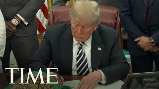 President Trump Grants Rare Posthumous Pardon To Late Boxer Jack Johnson | TIME