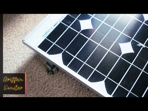 Beginner Solar Power Setup 2018 - Get your power from the sun!