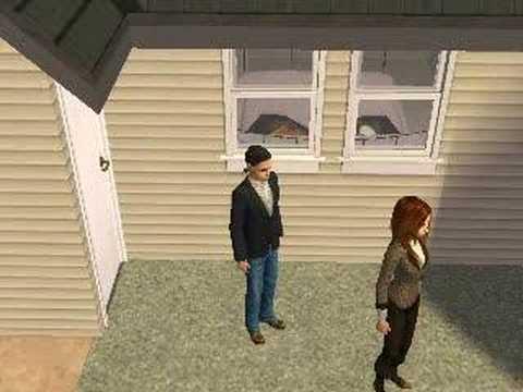 Sims short movie :)