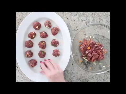 Bison Meatball Recipe for Dogs (and Humans)