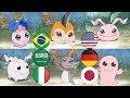 Digimon baby level | multilanguage (Japanese - English - German - Latino - ابطال الديجيتال - Italy)