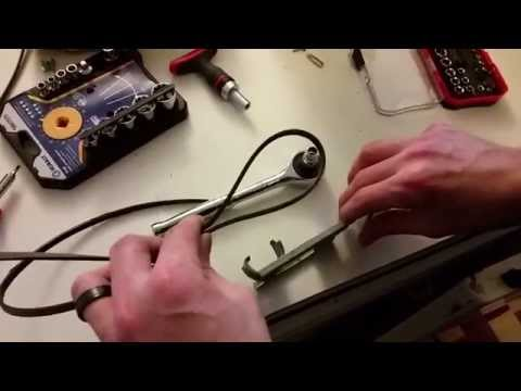 How to replace a broken dryer belt. Whirlpool Ultimate Care II Model