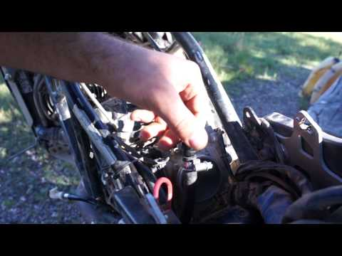 How to Clean a Clogged KTM Injector In the Field.