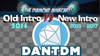 DanTDM Old intro Vs New intro (song)