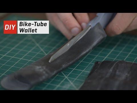 DIY Bike Tube Wallet