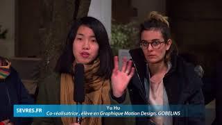 Video mapping : fête des lumières de Sèvres 2017 - GOBELINS