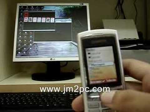 JM2PC - Remote Control PC with mobile phone