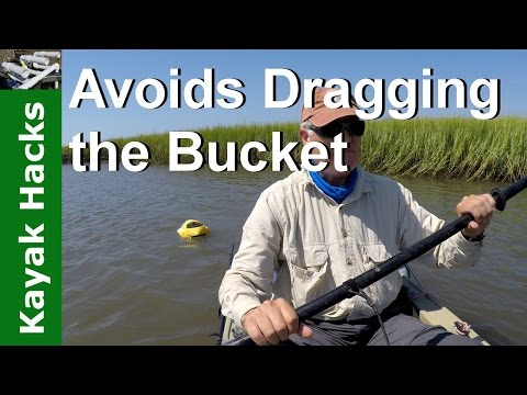 How to keep bait alive when kayak fishing with a bait bucket