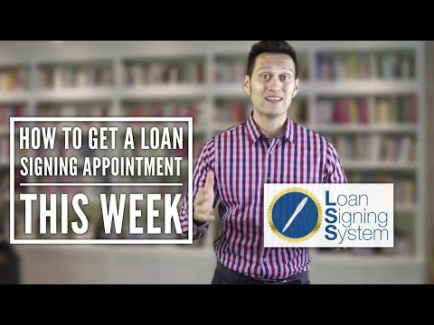 Learn how to make money as a Notary Public Loan Signing Agent as Early as This Week!