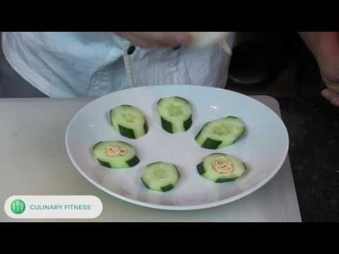 Seared Sesame Tuna Cucumber  | Chef Dennis Berry | Healthy Cooking Videos