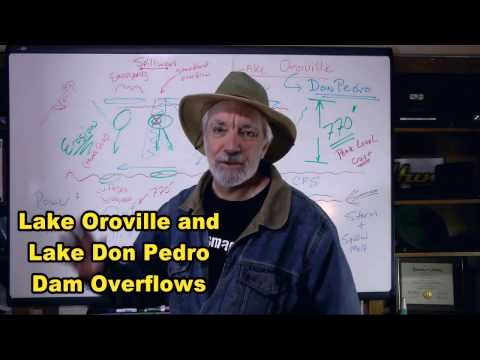 Oroville and Don Pedro Dam and gold prospecting