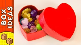 DIY Gift Box - Heart   Craft Ideas for Kids on Box Yourself