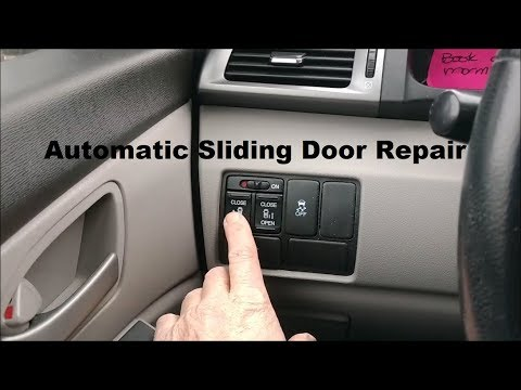 Automatic Sliding Door Repair DIY video #fixit #howto #diy #door #van #slidingdoor