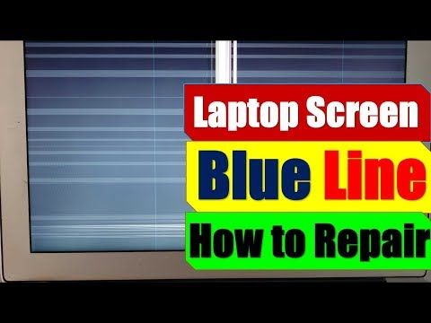 How to repair laptop | blue lines on Laptop screen | Chip level laptop repair course |Laptop repair|