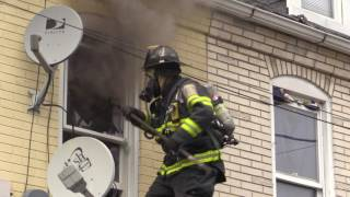 Allentown Firefighters All Hands Working on North Street - 8.6.17