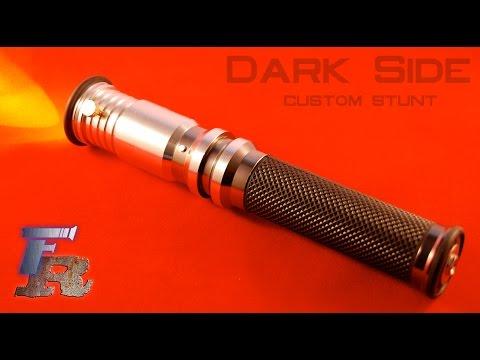 Force Relics Dark Side custom stunt saber