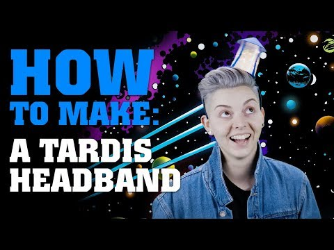 How To Make A TARDIS Headband | Doctor Who