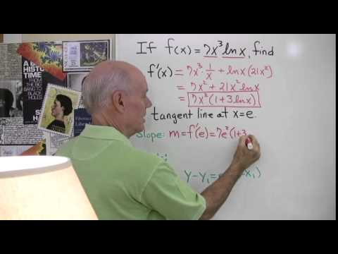 Natural Logarithms and the Product Rule