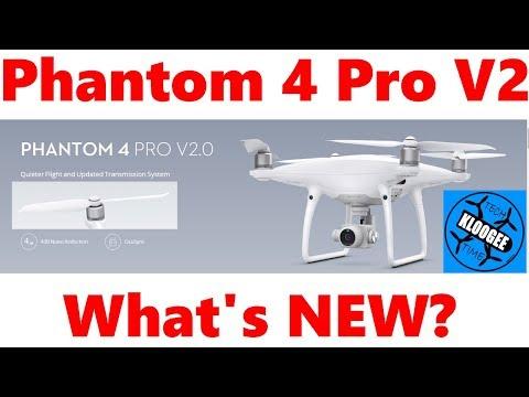 DJI Phantom 4 Pro V2 Released