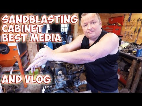 Sandblasting Cabinet Jimmy's Award And Reliant Engine Vlog