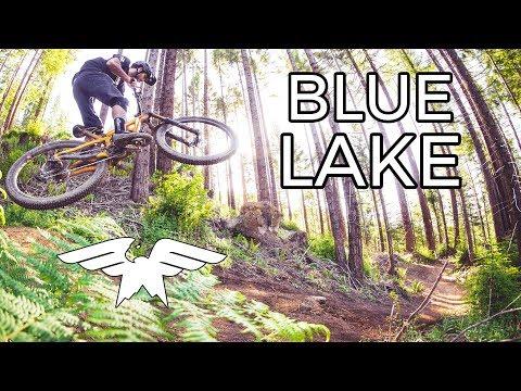These Trails Are Fire - Mountain Biking Blue Lake, California