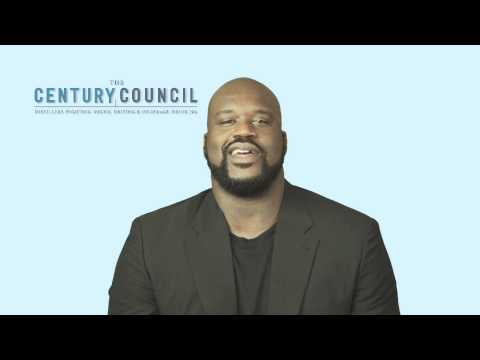 Shaquille O'Neal Announces Partnership with The Century Council to Fight Binge Drinking