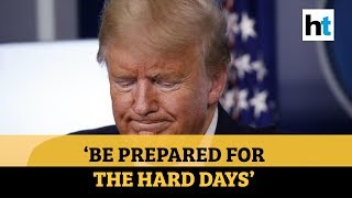 'Very, very painful two weeks ahead': Donald Trump warns Americans to be prepared