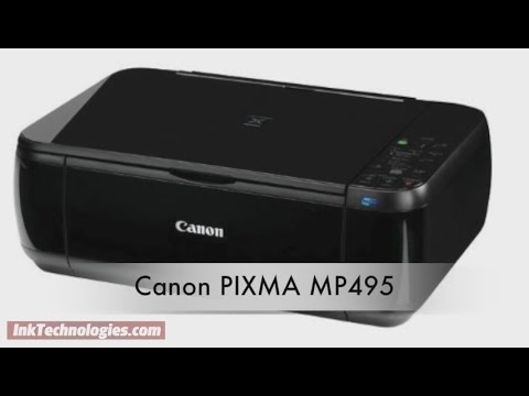 Canon PIXMA MP495 Instructional Video