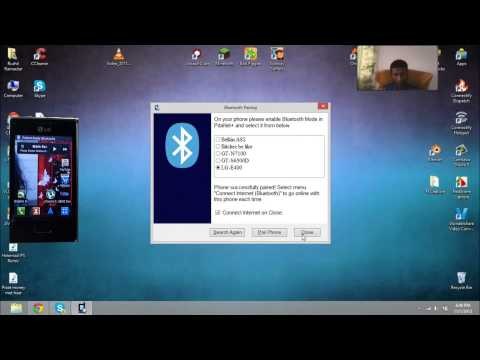 How To: Receive Internet using Bluetooth via an Android Phone