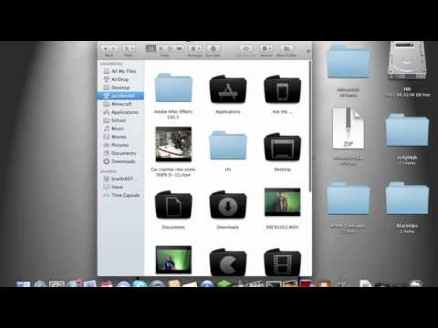How to get to the Minecraft Folder On Mac Os X Lion