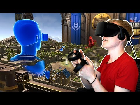 Playing on the Oculus Rift for the first time! (Virtual Reality)