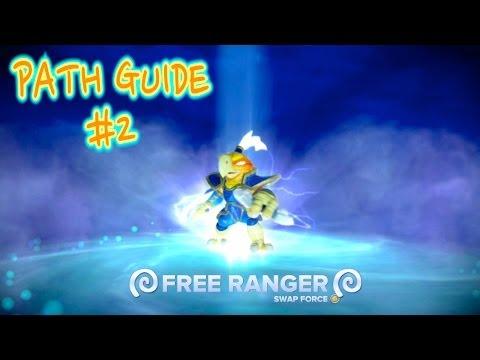 Skylanders Swap Force - Free Ranger Path Guide #2