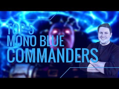 MTG Top 5 Mono Blue Commanders