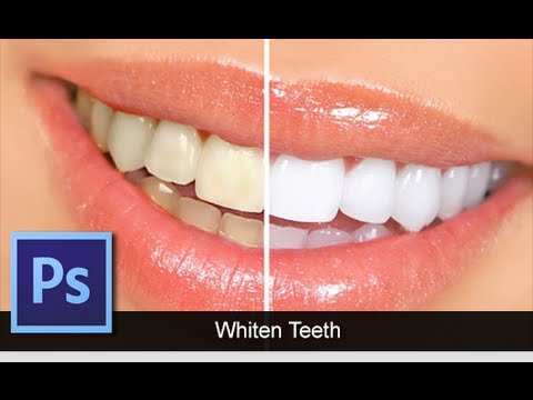 Adobe Photoshop CS6 [How To] [Whiten Teeth] [Quick Tip For Beginners]
