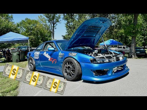 HOW MUCH DID THE 240SX COST?!?  (408 STROKER S14 BUILD PRICE)