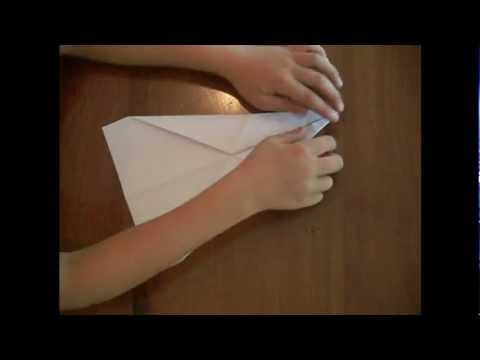 How to make an Awesome Gliding Paper Plane