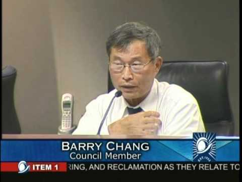 Barry asks how the County handle noise complaints from residents?