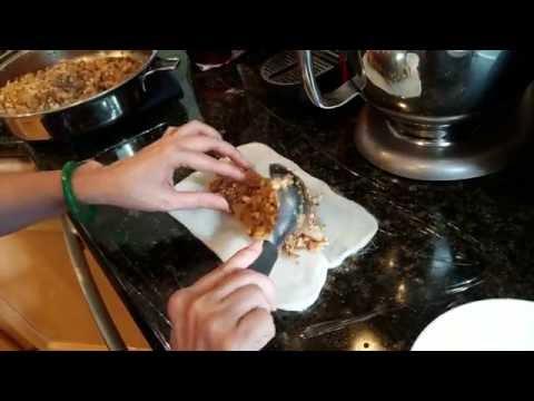 Sticky Steamed Rice Cake Wrap/Homemade Braised Pork Belly