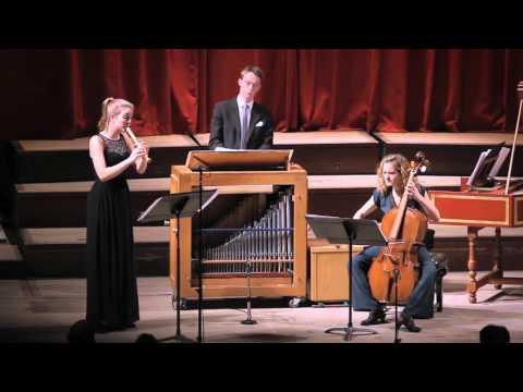 tr!jo - JS Bach, Organ Partita ( BWV 768), Var. 1 & 3
