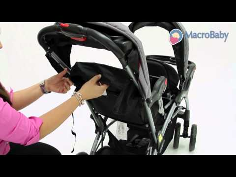 MacroBaby Store - Baby Trend Sit N Stand Double Stroller