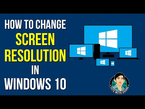 How to Change Screen Resolution in Windows 10 - Windows 10 Tutorial