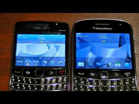 BlackBerry 9700 vs 9900 - Part 1 of 2