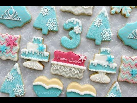 Frozen Themed Cookies!