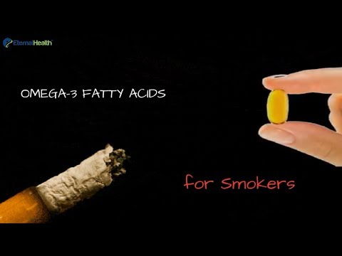 Omega 3 Fatty Acids supplements For Smokers