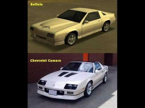 GTA San Andreas Sports Cars and their lookalikes in Real Life!